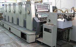 Printing press A2
